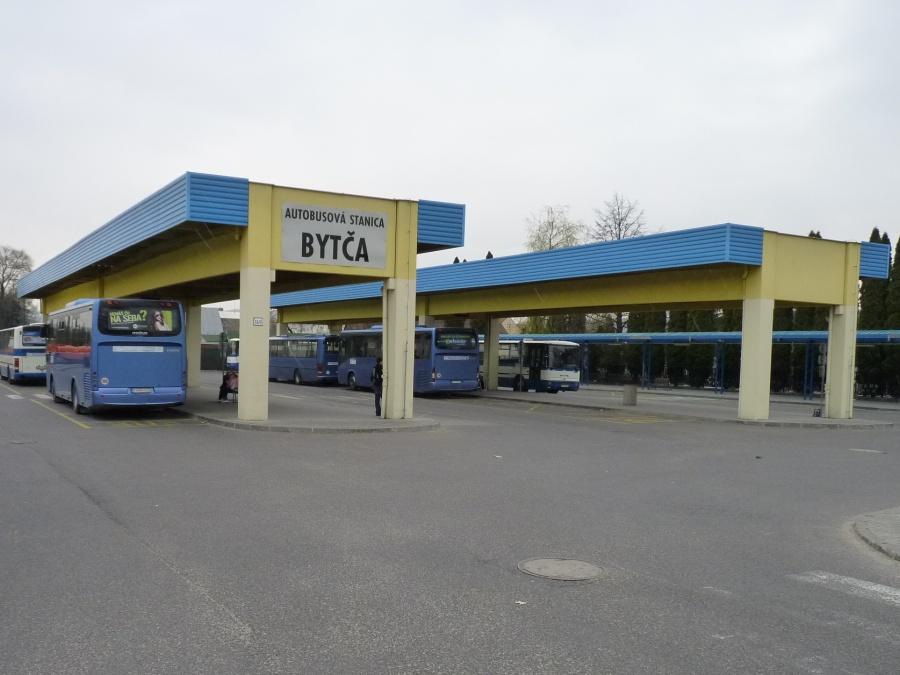 40a776252 Autobusová stanica Bytča - Slovenská autobusová doprava Žilina
